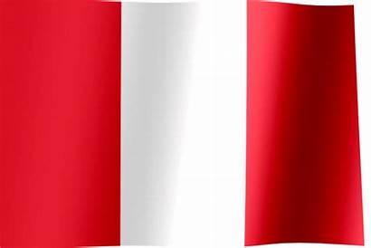 Flag Peru Italy Waving Flags Peruvian Kingdom