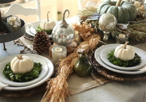 Amazing Thanksgiving Dining Table Settings You?ll Love