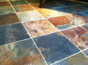 tips on sealing slate tile flooring