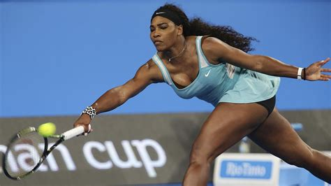 Serena Williams bagelled, but coffee helps her beat ...