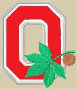 Ohio State Logo Embroidery Design