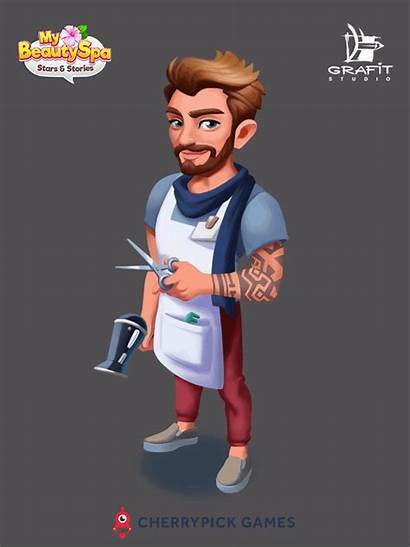 Mobile Characters Games Cherrypick Animation Behance