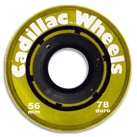 Cadillac Wheels Skateboard by Cadillac Skateboard Wheels 56mm 78a Trans Yellow Ebay