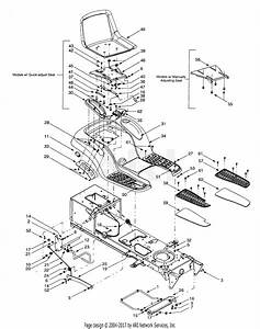 Mtd 13ag619h022  2001  Parts Diagram For Fender  U0026 Seat