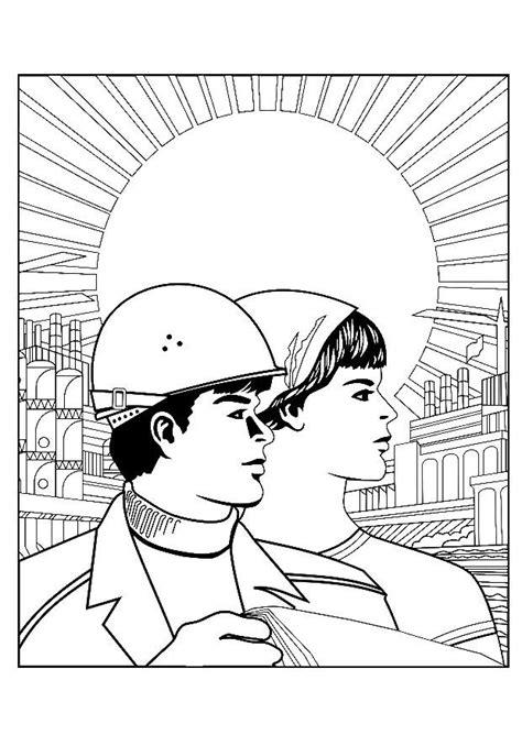 malvorlage arbeiter kostenlose ausmalbilder zum ausdrucken
