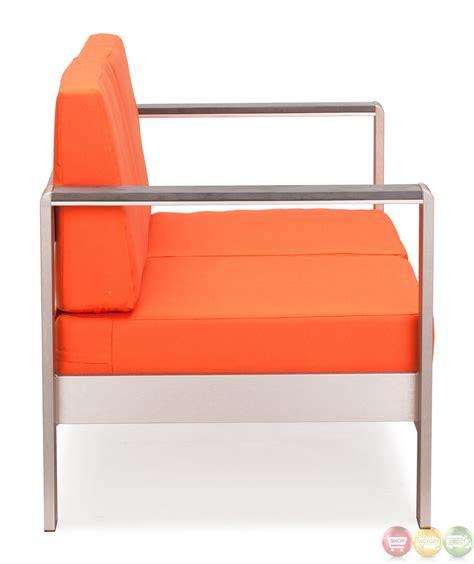 cosmopolitan orange sofa cushions zuo modern 701851 modern