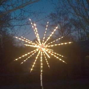 Weihnachtsstern Außen Led : led stern mit flash o feuerwerk effekten 60cm ~ Watch28wear.com Haus und Dekorationen