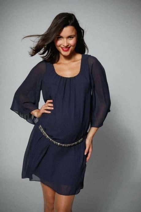 schicke kleider für schwangere umstandsmode tunika festlich