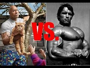 Milk is for Babies Arnold Schwarzenegger vs Dwayne Johnson ...
