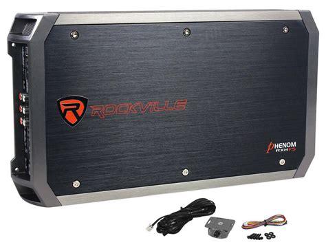 rockville rxh   watt peakw rms  channel amplifier car stereo amp ebay