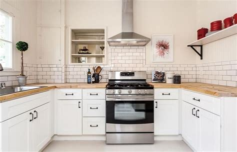white kitchen cabinets with wood countertops wood kitchen countertops design ideas designing idea 2092