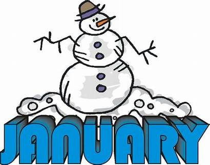 January Clip Clipart Birthday Month Cliparts Library