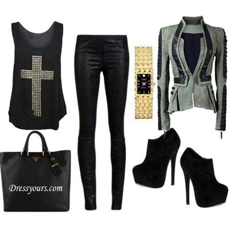 Simple Rockstar Outfit For Women   www.imgkid.com - The Image Kid Has It!