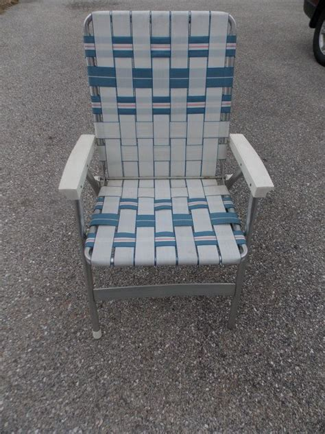 webbed lawn chairs folding aluminum 81 best images about vintage cing patio on