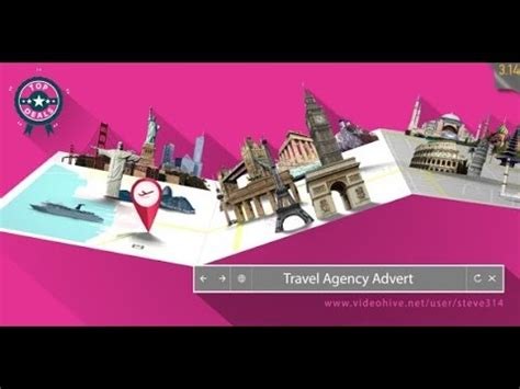 travel agency advert videohive free download after effects template travel agency advert after effects template youtube