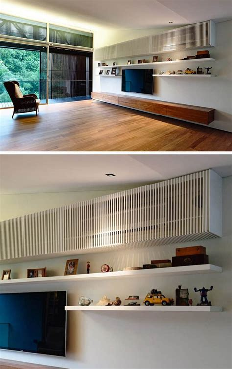 hide  air conditioner unit  style