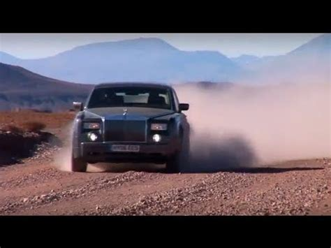 roll royce road rolls royce phantom off road south america commercial