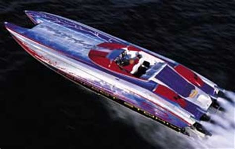 Nortech Boats Canada by Nor Tech 3600 Supercat Powerboat Performance Report