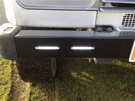 defender daytime running lights drl bumper onzlo custom parts