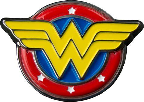 Wonder Woman Logo Colour Enamel Lapel Pin Wonder Woman
