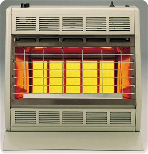 empire floor furnace thermostat empire sr30t infrared vent free gas heater with hydraulic