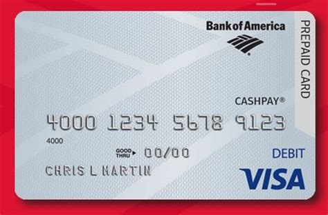 However, this is not one of those benefits that you'll ever want to use. How To Activate Bank of America CashPay Visa Card www.bankofamerica.com