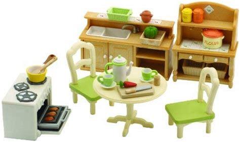 Sylvanian Families Kitchen And Living Room Collection : Cocina De Juguete Para Casas De