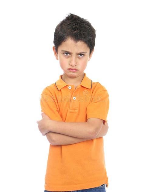 Very Angry Boy stock image. Image of orange, hispanic - 10949167