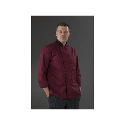 chemise de cuisine chemise de cuisine bordeaux manches longues my tablier