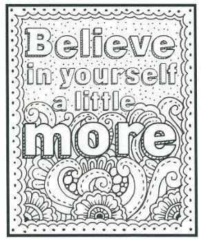 quote coloring pages  adult coloring pages fall coloring pages