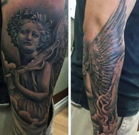 angel wing tattoos  men ideas  inspiration  guys