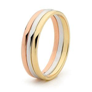 wedding ring shop australia 3 tone gold ring wedding bands just jewellery online jewellery store australia