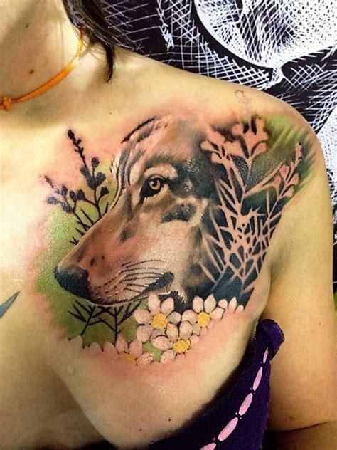 majestic wolf tattoos  true  spirits page