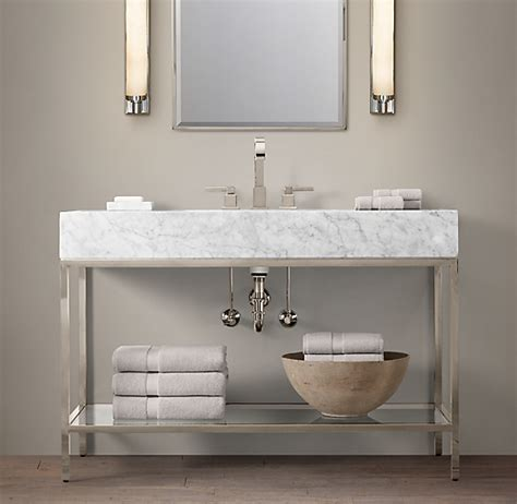 hudson metal single extra wide washstand