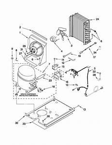 Kitchenaid Kuio18nnxs0 Freestanding Ice Maker Parts