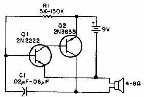 simple audio oscillator circuit diagram world With discrete transistors audio mixer