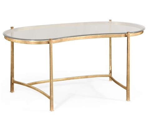 glass writing desk gold and glass kidney desk for at 1stdibs