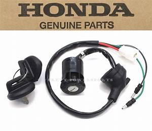 New Honda Ignition Key Switch Atc250 Es Big Red 1985