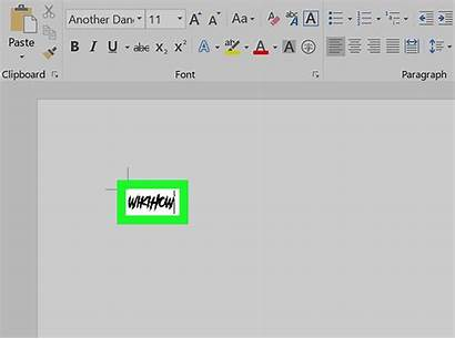Office Word Microsoft Fonts Font Wikihow Adding