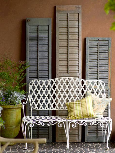 Decorating Ideas For Shutters by 25 Repurposed Shutter Decorating Ideas The Cottage Market
