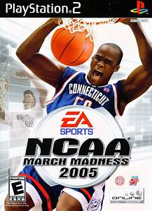 NCAA March Madness 2005 for PlayStation 2 (2004) - MobyGames