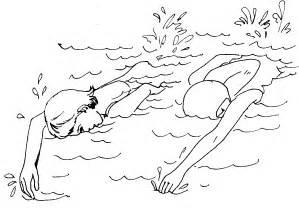 Swimming clipart black and white  Similiar Black And White Swimming Keywords