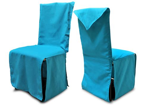 housse de chaise finition pointe turquoise ebay