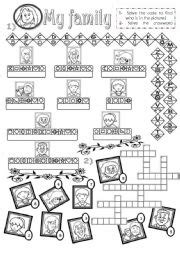 family members criss cross puzzle images frompo