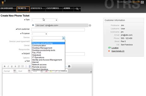 Otrs Help Desk Vs Itsm by Services At The Of Everything