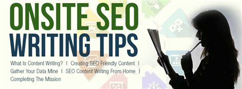 what is seo writing onsite seo writing tips