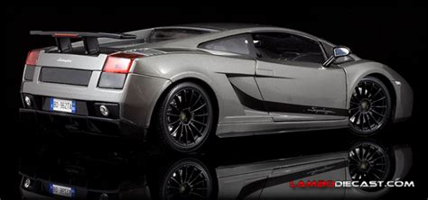 The 1/18 Lamborghini Gallardo Superleggera From Maisto, A