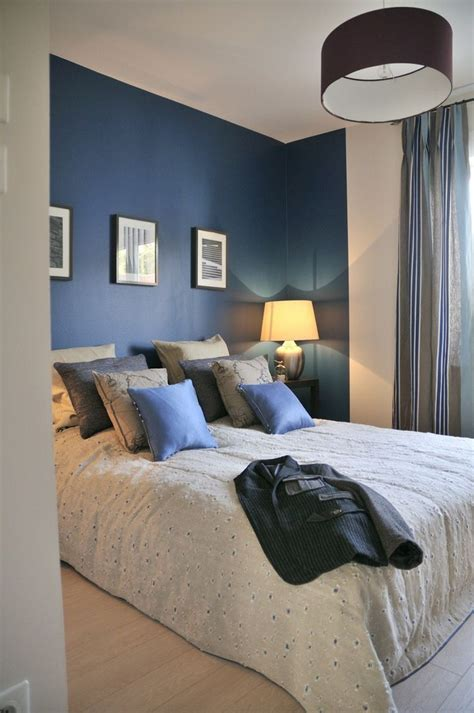 chambre parentale bleue décoration chambre parentale bleu