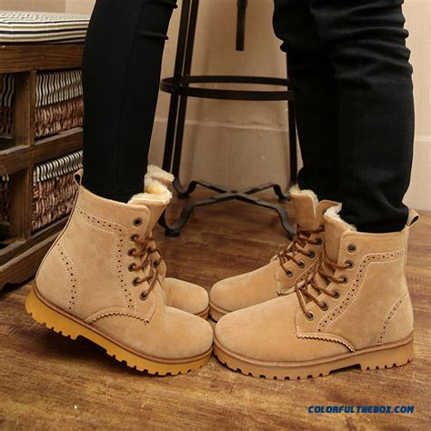 Cheap Special Offer Winter Short Laced Black Men Boots