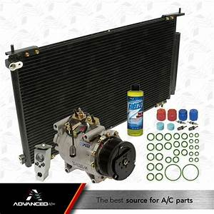 New Ac Compressor Kit Fits  2002 2003 2004 2005 2006 Honda Crv Cr